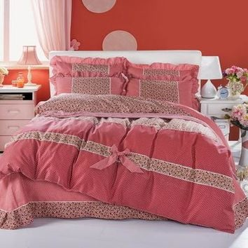 100% Cotton Adult kids Bedding set 3d bed sets comforter Luxury with Duvet quilt cover bed sheet Pillowcase for All Size Textile
