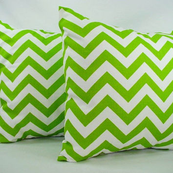Decorative Throw Pillow Covers  Green and by CastawayCoveDecor