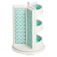 Chloe Rotating Organizer, Pool Clover