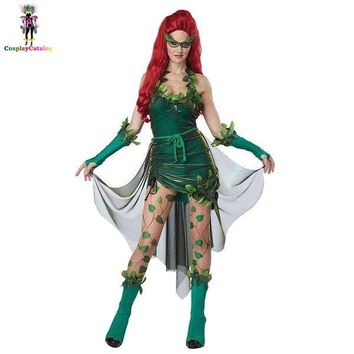 Poison Ivy Halloween Party Costume set