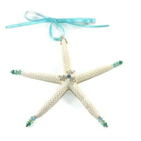 Star Fish Christmas Tree Ornament -Star Fish Ornament -Coastal Ornament