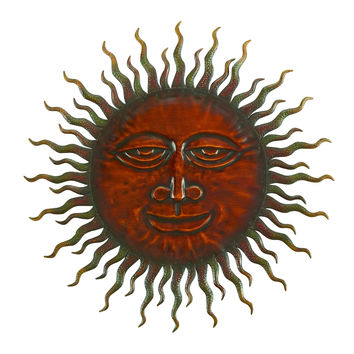 """""75626-Cosmic Sun Wall Decor Sclupture 24"""""""" Dia I """": 75626-Cosmic Sun Wall Decor Sclupture 24"""" Dia I Brand Woodland"