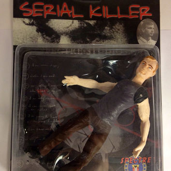 Rare Jeffrey Dahmer Serial Killer Action Figure Spectre Studios MIB SEALED