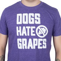 AH Dogs Hate Grapes Tee