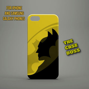 I'M THE BATMAN Design Custom Phone Case for iPhone 6 6 Plus iPhone 5 5s 5c iphone 4 4s Samsung Galaxy S3 S4 S5 Note3 Note4 Fast!