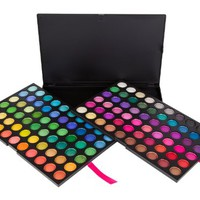 Coastal Scents 120 Eye Shadow Palette...