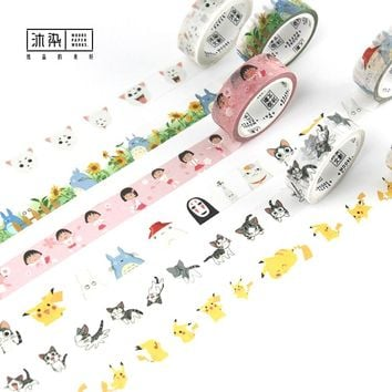 Happy Fairytale Theatre Washi Tape Adhesive Tape DIY Scrapbooking Sticker Label Masking Tape