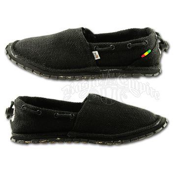 Bob Marley Kingston Hemp Black Shoes - Men's @ RastaEmpire.com