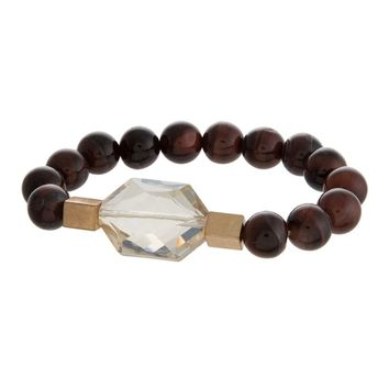 Gemstone Bracelet - Red Tiger Eye