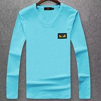 Boys & Men Fendi Fashion Casual Top Sweater Pullover