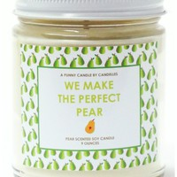 We Make The Perfect Pear Candle