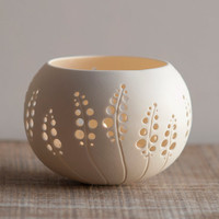 Porcelain Tea light Delight - Candle Holder N.8. Design by Wapa Studio.