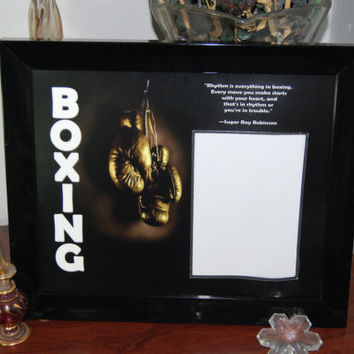 8x10 Boxing Framed Photo Matte