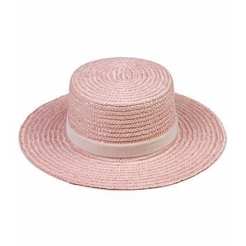 Lack of Color x Paradiso Hat (Pastel Pink/Ivory)
