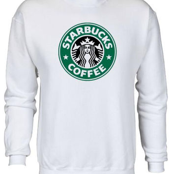 Starbucks Logo Comfy Sweatshirt UNISEX SIZES