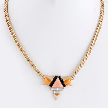 """Summer in Ibiza"" Necklace (Peach)"