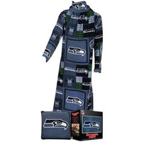 Fabrique Innovations Seattle Seahawks Pillow Snuggie