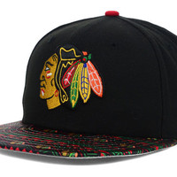 Chicago Blackhawks NHL Fair Isle Flip 59FIFTY Cap