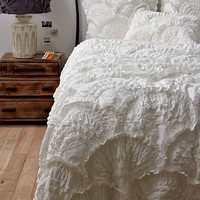 Rivulets Bedding, Cream