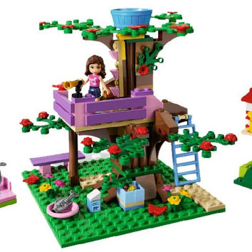 10158 BELA Girls Friends Olivia Tree House Building Blocks 191pcs set Assemble Bricks toys Compatible Legoe friends