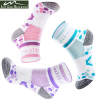 3 Pair/Lot 2017 New Brand Socks Women Soft Anti-microbial Sweat Uptake Quick Dry Breathable Socks Summer Race Walking Socks