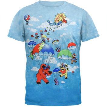 Grateful Dead - Parachuting Bears Tie Dye T-Shirt
