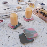 Disco Candy Coaster by duckyb