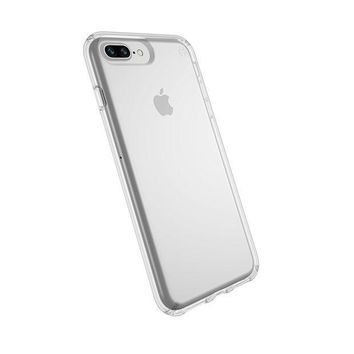 PEAPGQ6 Speck Products Presidio Clear Case for iPhone 8 Plus (Also fits 7 Plus and 6S/6 Plus), Clear/Clear