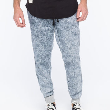 TOKYO FIVE Acid Wash Mens Jogger Pants | Joggers & Sweatpants