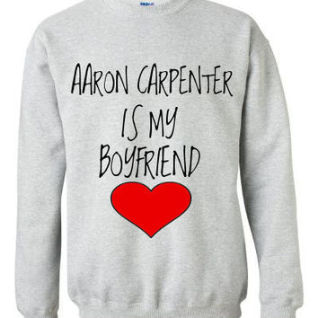 Aaron Carpenter is my Boyfriend Crewneck Sweatshirt