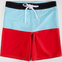 Wellen Sunset Mens Boardshorts Blue Combo  In Sizes