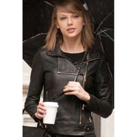 New Taylor Swift Leather Jacket | DesertLeather