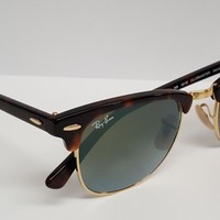 Brand New Ray Ban Rayban 3016 Clubmaster Size 49 Sunglasses color 990/9J
