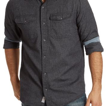 Cheswick Charcoal Flannel Shirt
