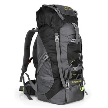 Outlife 8811 65L Climbing Outdoor Backpack Camping Hiking Backpacks Mountaineering Rucksack Water-resistant Sport Travel Bag