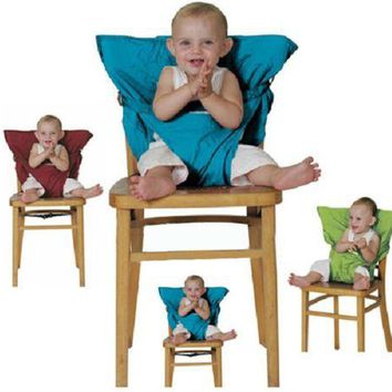 Travel Portable Baby Toddler Safety Chair Seat Cover Harness Various Colors