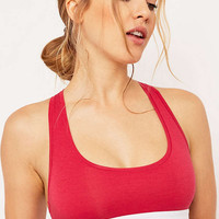 Calvin Klein Tinted Rose Crop Top - Urban Outfitters