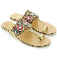 Tashie Carnival Sandals | Multi | Accessorize