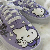 Custom Hello Kitty Vans/Keds/Toms/Chucks shoes