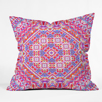Jacqueline Maldonado Carnivale 1 Outdoor Throw Pillow