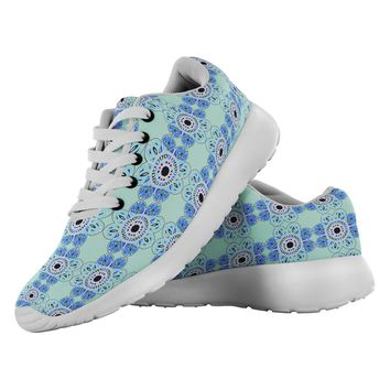 Delft Mandala Made to Order Gym Shoes
