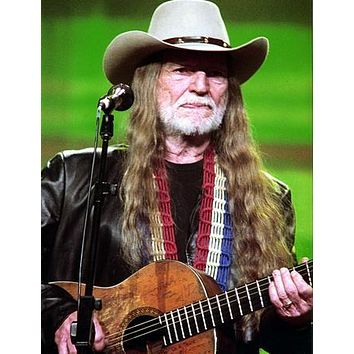 Willie Nelson Guitar 11 inch x 17 inch poster
