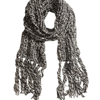 Chunky-knit Scarf - from H&M