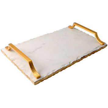Thirstystone® Old Hollywood Marble Serving Tray