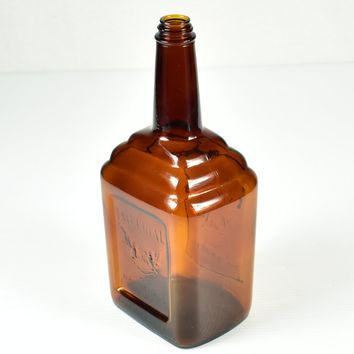 Imperial By Hiram Walker Whiskey Bottle - Hillsboro Glass