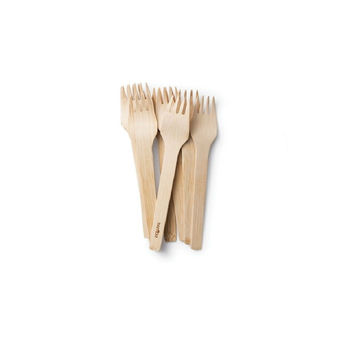 All Occasion Veneerware® Bamboo Forks (case of 250)