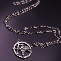 Necklace Mockingbird Jay Arrow , The Hunger Games