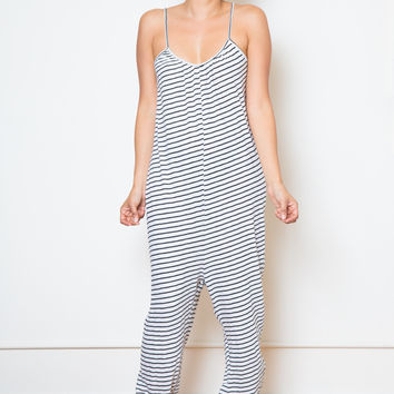 nytt striped pant romper