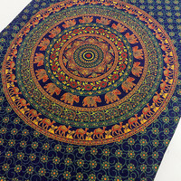 mandala tapestry, indian elephant wall hanging, hippie bedspread tapestries, bohemian wall decor tapestries, ethnic wall decor