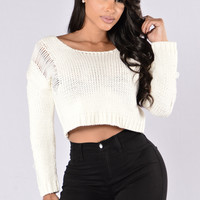 Storm Warning Sweater - Ivory